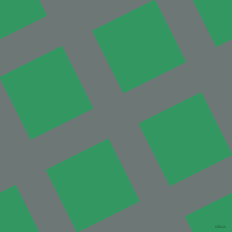 27/117 degree angle diagonal checkered chequered lines, 115 pixel line width, 240 pixel square size, Rolling Stone and Eucalyptus plaid checkered seamless tileable