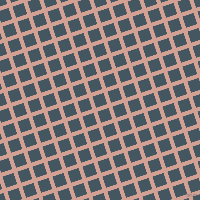 18/108 degree angle diagonal checkered chequered lines, 14 pixel lines width, 40 pixel square size, Rose and San Juan plaid checkered seamless tileable
