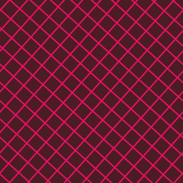 48/138 degree angle diagonal checkered chequered lines, 5 pixel lines width, 41 pixel square size, Ruby and Bordeaux plaid checkered seamless tileable