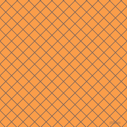 45/135 degree angle diagonal checkered chequered lines, 2 pixel line width, 25 pixel square size, Russett and Sunshade plaid checkered seamless tileable