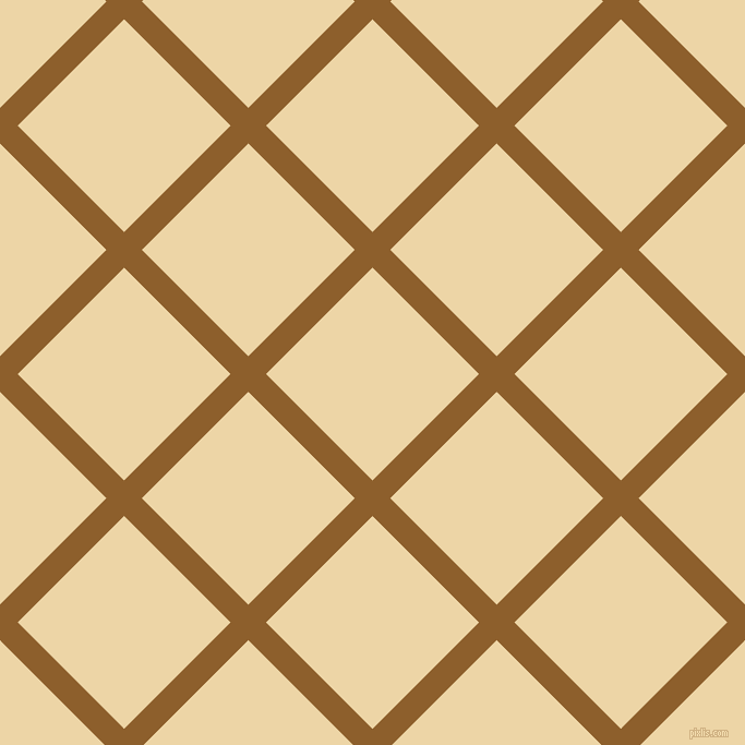 45/135 degree angle diagonal checkered chequered lines, 23 pixel lines width, 138 pixel square size, Rusty Nail and Astra plaid checkered seamless tileable