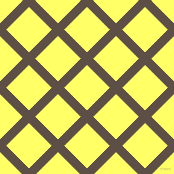 45/135 degree angle diagonal checkered chequered lines, 30 pixel line width, 107 pixel square size, Saddle and Laser Lemon plaid checkered seamless tileable