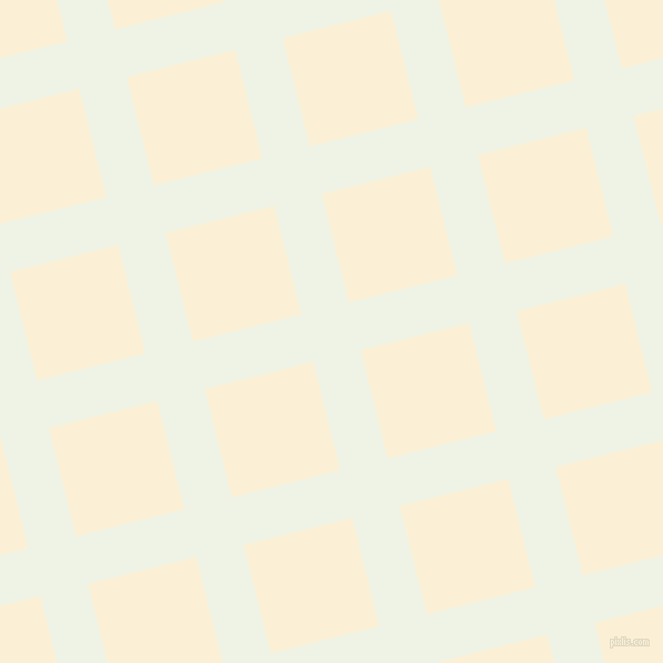 14/104 degree angle diagonal checkered chequered lines, 44 pixel lines width, 101 pixel square size, Saltpan and Half Dutch White plaid checkered seamless tileable