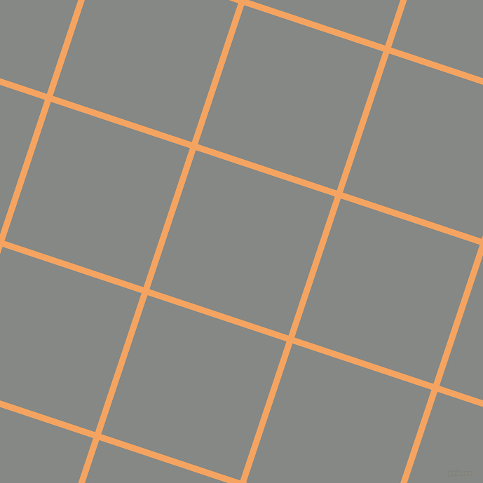 72/162 degree angle diagonal checkered chequered lines, 9 pixel line width, 209 pixel square size, Sandy Brown and Stack plaid checkered seamless tileable
