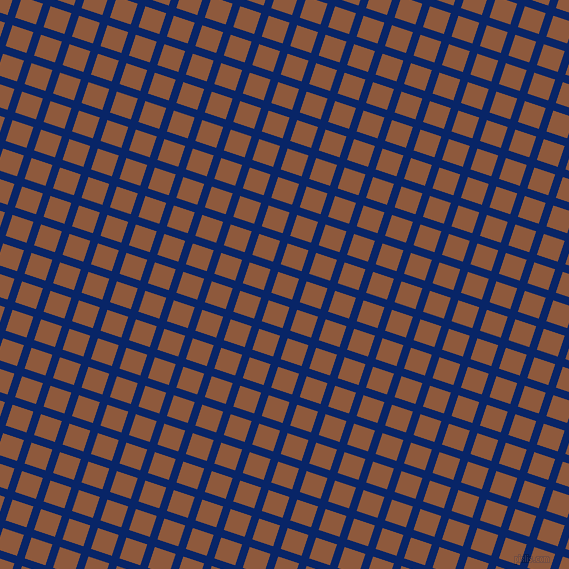 72/162 degree angle diagonal checkered chequered lines, 8 pixel line width, 22 pixel square size, Sapphire and Rope plaid checkered seamless tileable