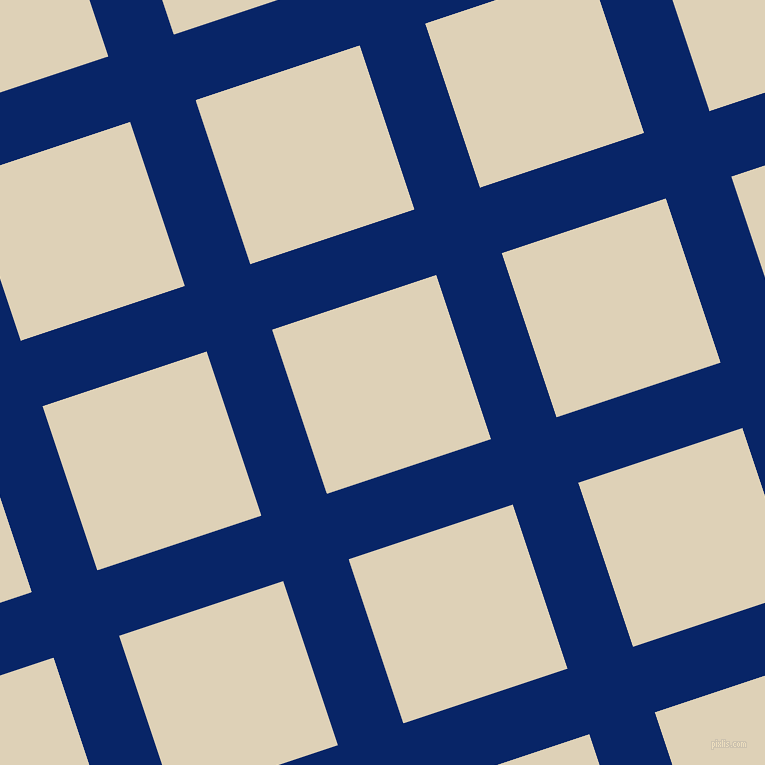 18/108 degree angle diagonal checkered chequered lines, 69 pixel line width, 173 pixel square sizeSapphire and Spanish White plaid checkered seamless tileable