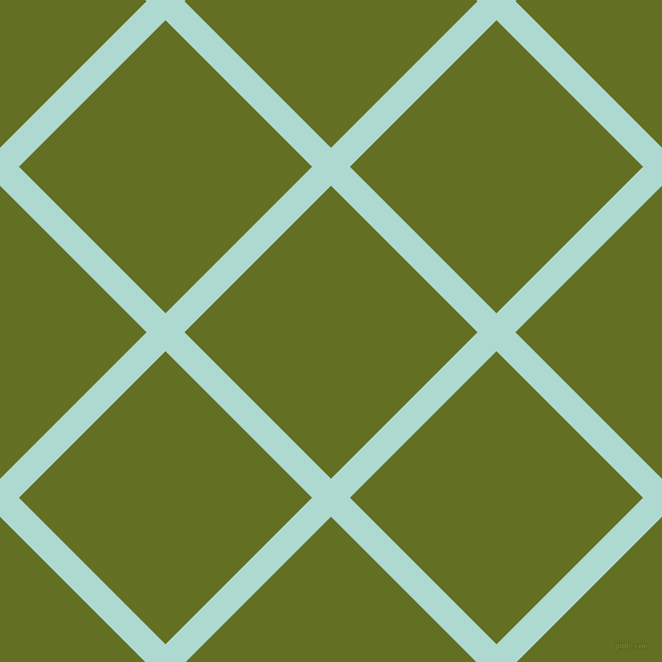 45/135 degree angle diagonal checkered chequered lines, 30 pixel lines width, 232 pixel square size, Scandal and Fiji Green plaid checkered seamless tileable