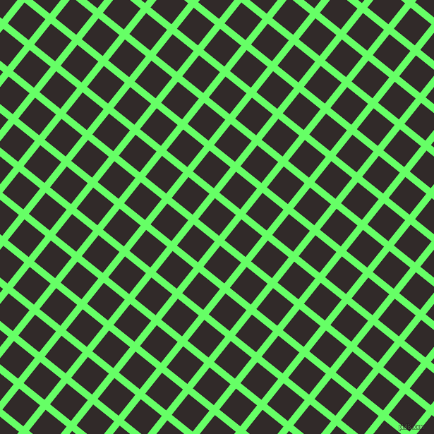 51/141 degree angle diagonal checkered chequered lines, 10 pixel lines width, 38 pixel square size, Screamin
