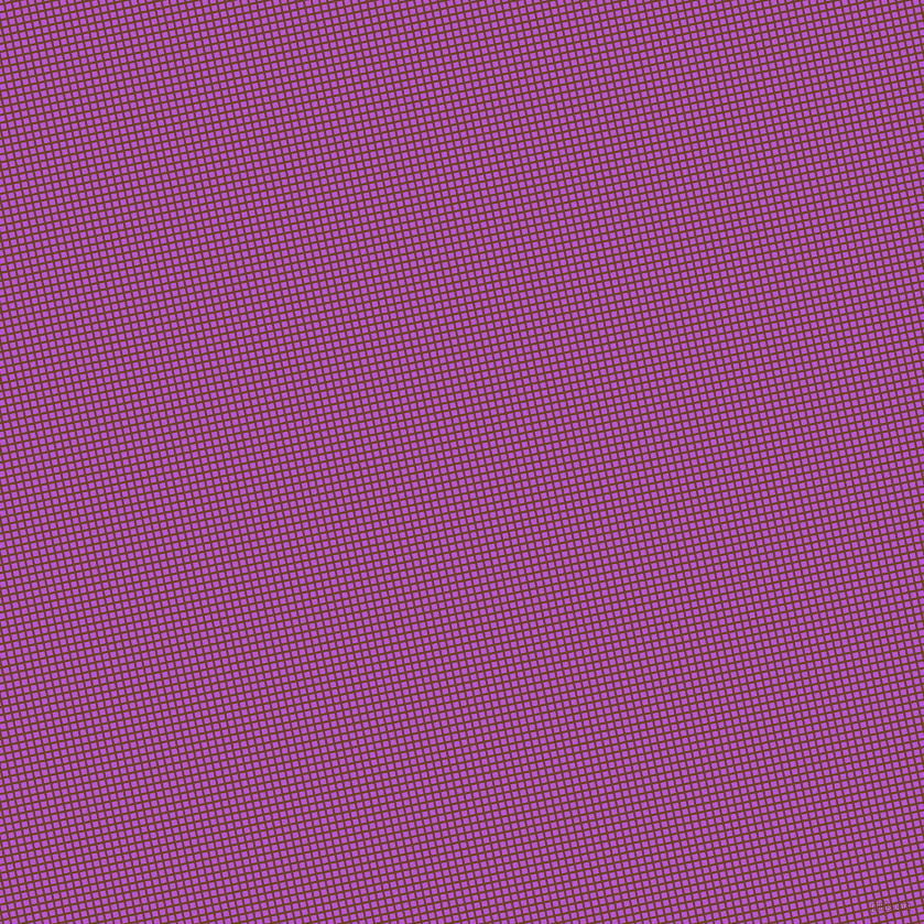 13/103 degree angle diagonal checkered chequered lines, 2 pixel line width, 5 pixel square size, Semi-Sweet Chocolate and Medium Orchid plaid checkered seamless tileable