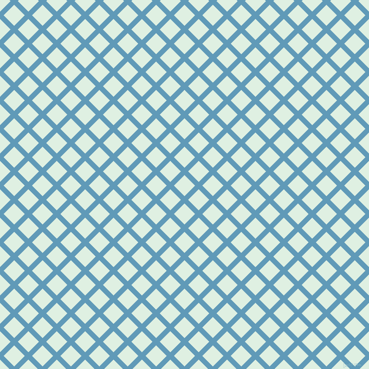 45/135 degree angle diagonal checkered chequered lines, 10 pixel lines width, 29 pixel square size, Shakespeare and Off Green plaid checkered seamless tileable