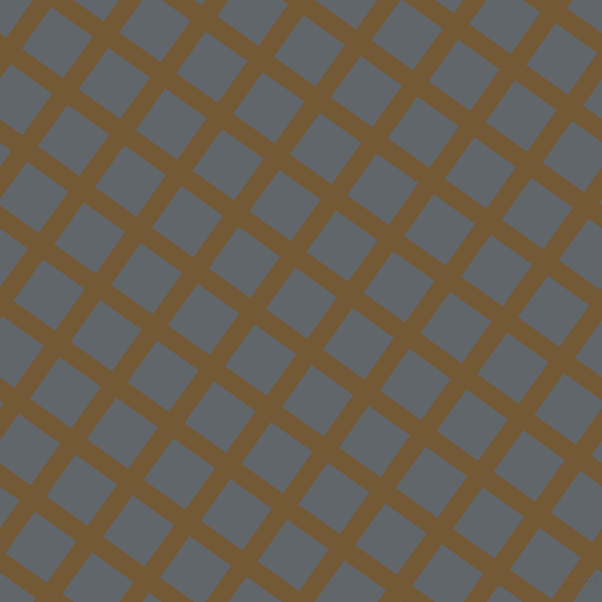 54/144 degree angle diagonal checkered chequered lines, 19 pixel lines width, 51 pixel square size, Shingle Fawn and Shuttle Grey plaid checkered seamless tileable