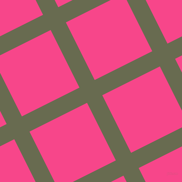 27/117 degree angle diagonal checkered chequered lines, 55 pixel lines width, 208 pixel square size, Siam and Violet Red plaid checkered seamless tileable