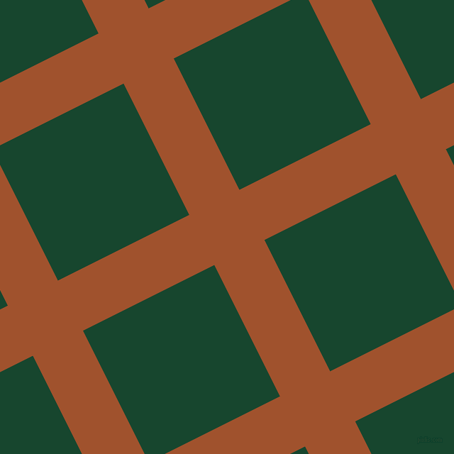 27/117 degree angle diagonal checkered chequered lines, 79 pixel lines width, 207 pixel square size, Sienna and Zuccini plaid checkered seamless tileable