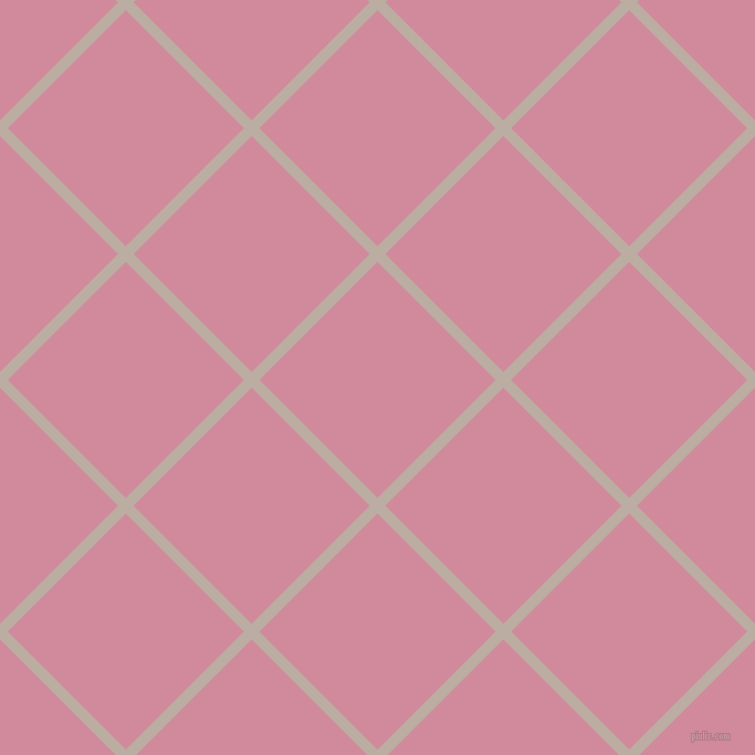 45/135 degree angle diagonal checkered chequered lines, 10 pixel line width, 151 pixel square size, Silk and Can Can plaid checkered seamless tileable