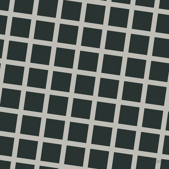82/172 degree angle diagonal checkered chequered lines, 16 pixel line width, 61 pixel square size, Silver Sand and Aztec plaid checkered seamless tileable