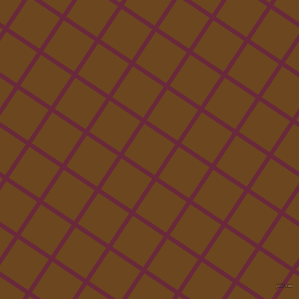 56/146 degree angle diagonal checkered chequered lines, 9 pixel lines width, 76 pixel square size, Siren and Antique Brass plaid checkered seamless tileable