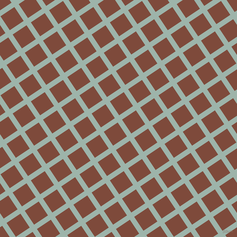 34/124 degree angle diagonal checkered chequered lines, 18 pixel line width, 58 pixel square size, Skeptic and Nutmeg plaid checkered seamless tileable