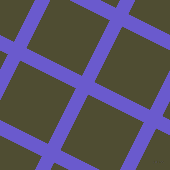 63/153 degree angle diagonal checkered chequered lines, 47 pixel lines width, 211 pixel square size, Slate Blue and Camouflage plaid checkered seamless tileable