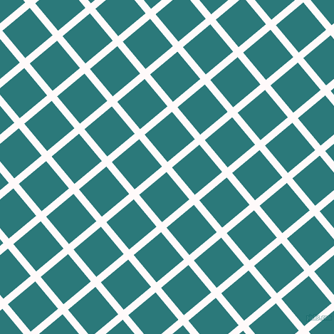 40/130 degree angle diagonal checkered chequered lines, 10 pixel line width, 50 pixel square size, Snow and Atoll plaid checkered seamless tileable