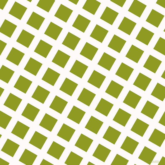 60/150 degree angle diagonal checkered chequered lines, 23 pixel line width, 47 pixel square size, Snow and Citron plaid checkered seamless tileable