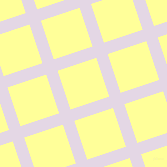 18/108 degree angle diagonal checkered chequered lines, 39 pixel lines width, 133 pixel square size, Snuff and Canary plaid checkered seamless tileable