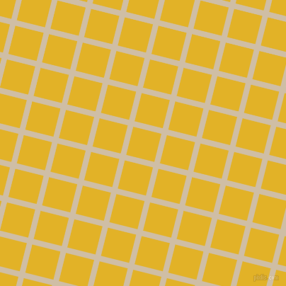76/166 degree angle diagonal checkered chequered lines, 8 pixel lines width, 41 pixel square size, Soft Amber and Gold Tips plaid checkered seamless tileable