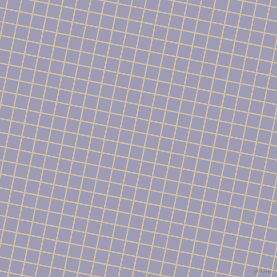 79/169 degree angle diagonal checkered chequered lines, 3 pixel lines width, 25 pixel square size, Soft Amber and Logan plaid checkered seamless tileable