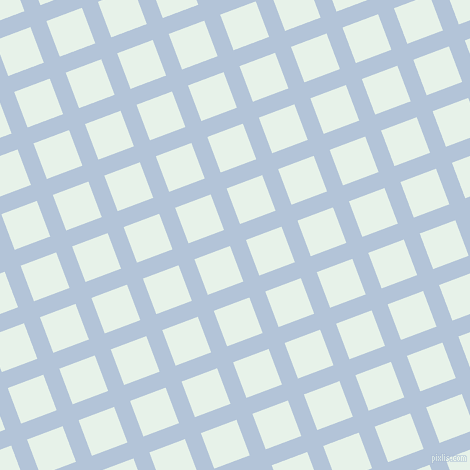 21/111 degree angle diagonal checkered chequered lines, 17 pixel line width, 38 pixel square size, Spindle and Dew plaid checkered seamless tileable