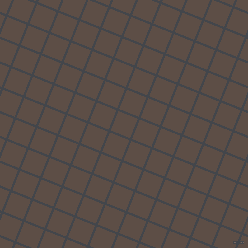 68/158 degree angle diagonal checkered chequered lines, 7 pixel line width, 67 pixel square size, Steel Grey and Saddle plaid checkered seamless tileable