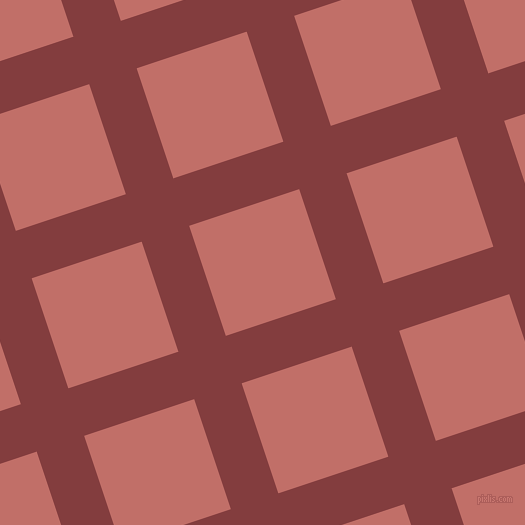 18/108 degree angle diagonal checkered chequered lines, 50 pixel line width, 116 pixel square size, Stiletto and Contessa plaid checkered seamless tileable