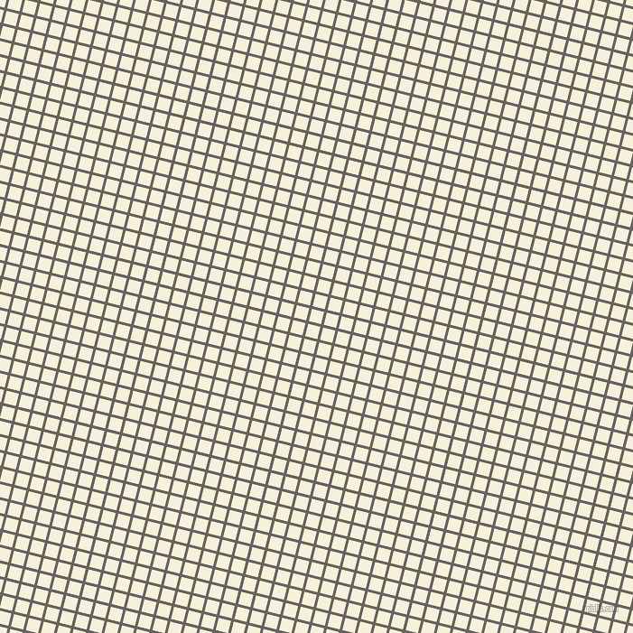 76/166 degree angle diagonal checkered chequered lines, 3 pixel lines width, 14 pixel square size, Storm Dust and Apricot White plaid checkered seamless tileable