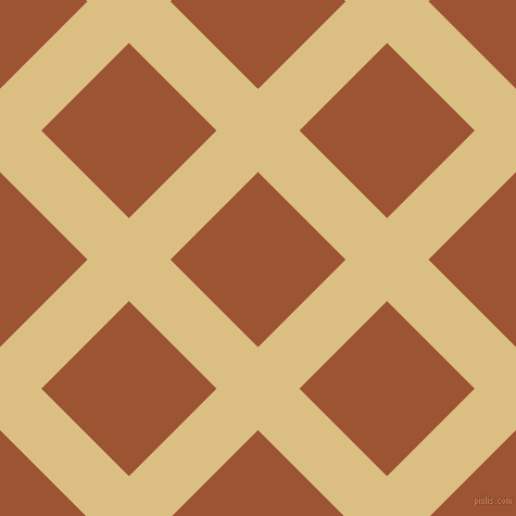 45/135 degree angle diagonal checkered chequered lines, 54 pixel lines width, 114 pixel square size, Straw and Piper plaid checkered seamless tileable