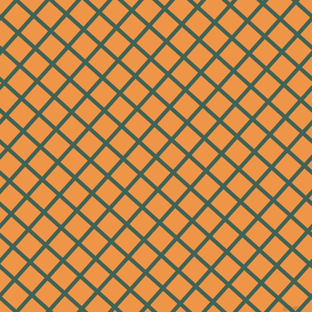 48/138 degree angle diagonal checkered chequered lines, 8 pixel lines width, 39 pixel square size, Stromboli and Sea Buckthorn plaid checkered seamless tileable