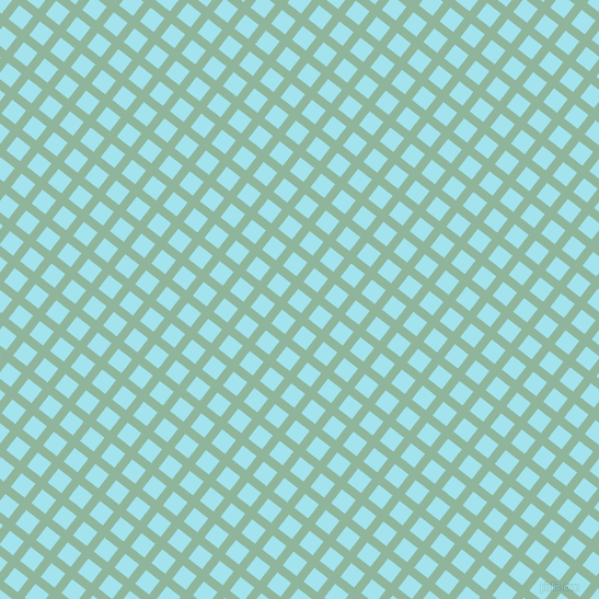 52/142 degree angle diagonal checkered chequered lines, 8 pixel line width, 16 pixel square sizeSummer Green and Blizzard Blue plaid checkered seamless tileable