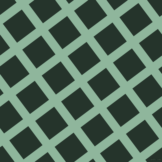 37/127 degree angle diagonal checkered chequered lines, 30 pixel line width, 82 pixel square size, Summer Green and Holly plaid checkered seamless tileable