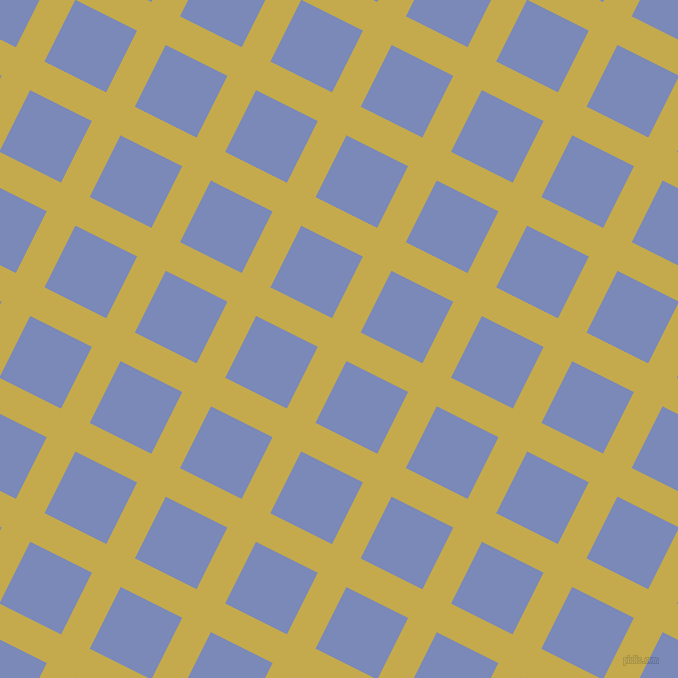 63/153 degree angle diagonal checkered chequered lines, 32 pixel line width, 69 pixel square size, Sundance and Wild Blue Yonder plaid checkered seamless tileable