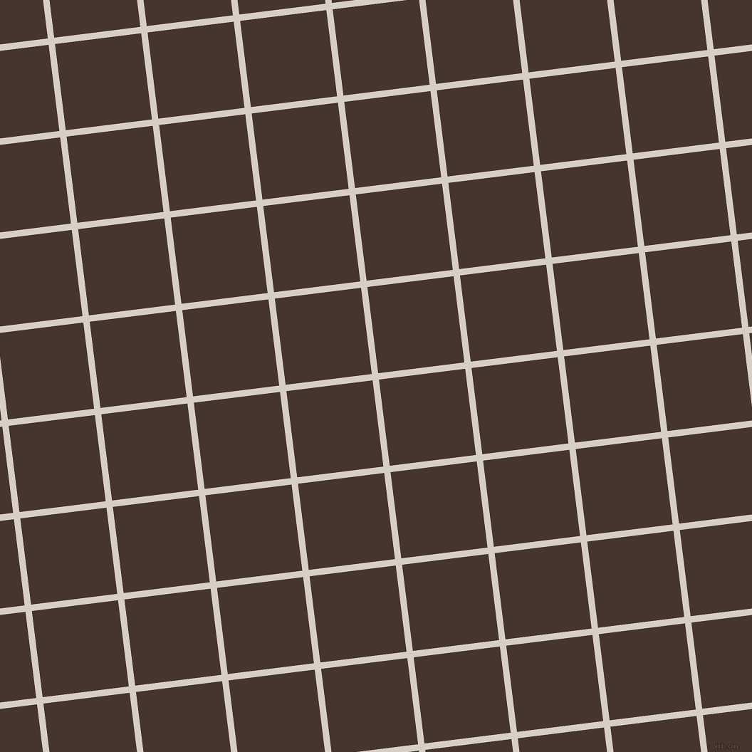 7/97 degree angle diagonal checkered chequered lines, 9 pixel line width, 122 pixel square size, Swirl and Cedar plaid checkered seamless tileable