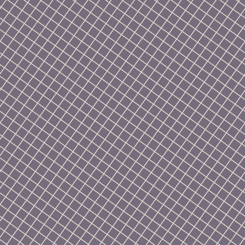54/144 degree angle diagonal checkered chequered lines, 3 pixel lines width, 28 pixel square size, Swiss Coffee and Mamba plaid checkered seamless tileable