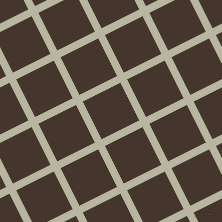 27/117 degree angle diagonal checkered chequered lines, 15 pixel line width, 84 pixel square size, Tana and Tobago plaid checkered seamless tileable
