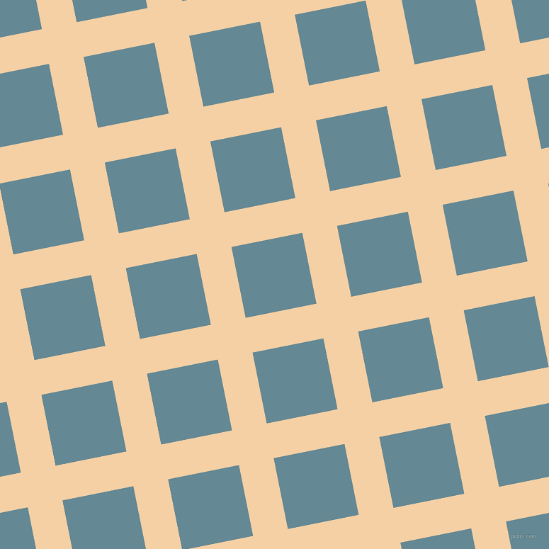 11/101 degree angle diagonal checkered chequered lines, 50 pixel line width, 102 pixel square size, Tequila and Horizon plaid checkered seamless tileable