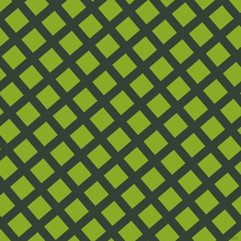 41/131 degree angle diagonal checkered chequered lines, 27 pixel line width, 57 pixel square sizeTimber Green and Limerick plaid checkered seamless tileable