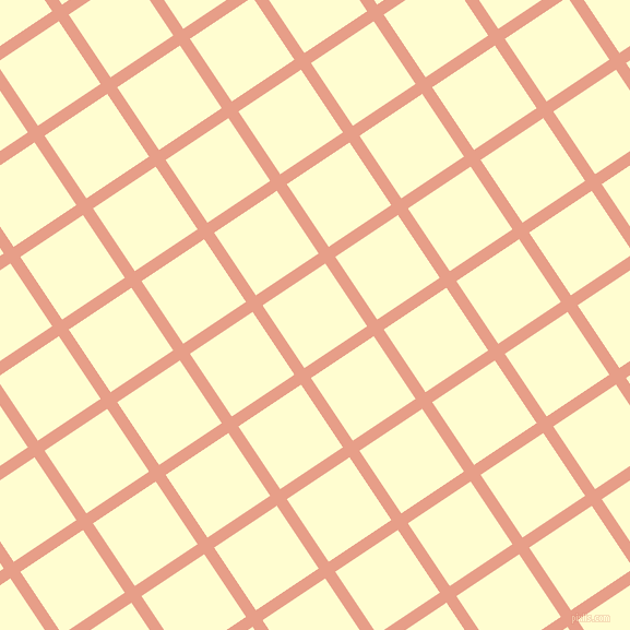 34/124 degree angle diagonal checkered chequered lines, 11 pixel line width, 69 pixel square size, Tonys Pink and Cream plaid checkered seamless tileable