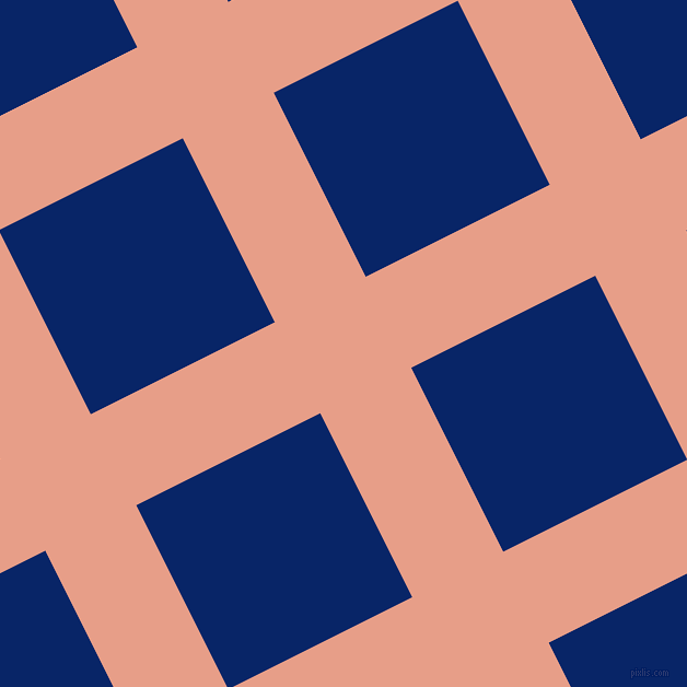 27/117 degree angle diagonal checkered chequered lines, 93 pixel line width, 188 pixel square size, Tonys Pink and Sapphire plaid checkered seamless tileable