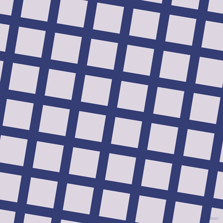 81/171 degree angle diagonal checkered chequered lines, 31 pixel lines width, 88 pixel square size, Torea Bay and Titan White plaid checkered seamless tileable