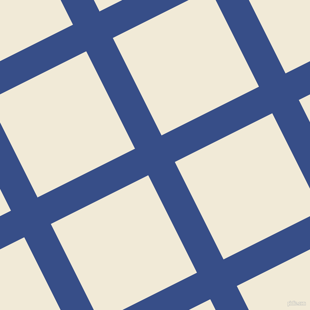 27/117 degree angle diagonal checkered chequered lines, 58 pixel lines width, 213 pixel square size, Tory Blue and Half Pearl Lusta plaid checkered seamless tileable