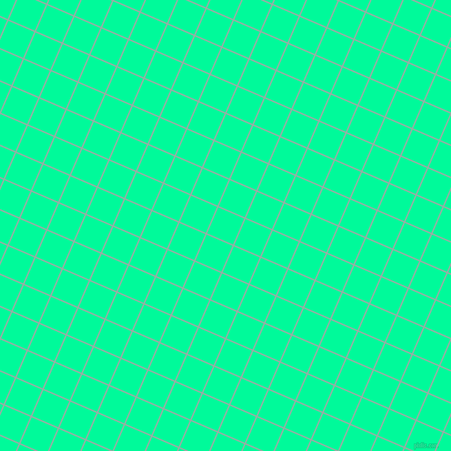 67/157 degree angle diagonal checkered chequered lines, 2 pixel lines width, 41 pixel square size, Tower Grey and Medium Spring Green plaid checkered seamless tileable