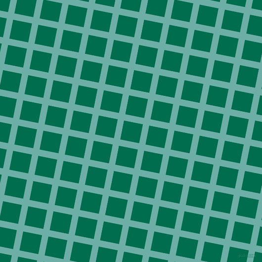 79/169 degree angle diagonal checkered chequered lines, 13 pixel line width, 39 pixel square size, Tradewind and Watercourse plaid checkered seamless tileable