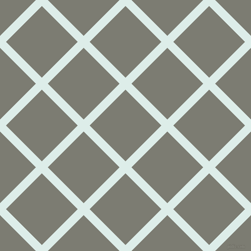 45/135 degree angle diagonal checkered chequered lines, 17 pixel lines width, 102 pixel square size, Tranquil and Tapa plaid checkered seamless tileable