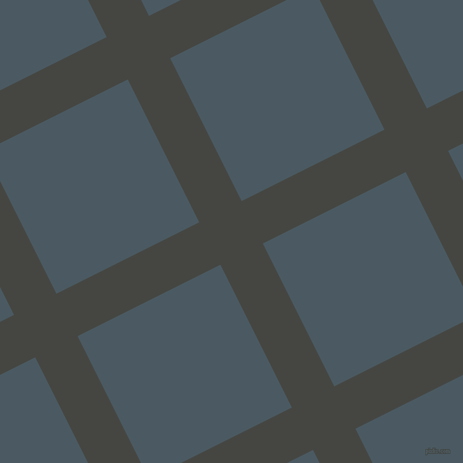 27/117 degree angle diagonal checkered chequered lines, 68 pixel line width, 229 pixel square size, Tuatara and Fiord plaid checkered seamless tileable