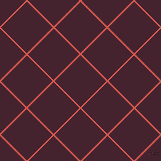 45/135 degree angle diagonal checkered chequered lines, 5 pixel line width, 119 pixel square size, Valencia and Castro plaid checkered seamless tileable